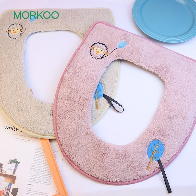 刺绣马桶垫
